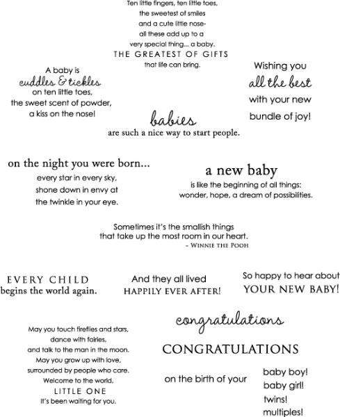 Quotes For Baby Girl Cards. QuotesGram