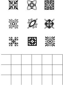 Guide Lines Stamp Set