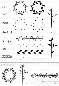 Rustic Branches Stamp Set
