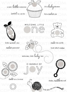 Baby Button Bits Stamp Set