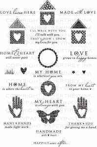 Love Lives Here Stamp Set