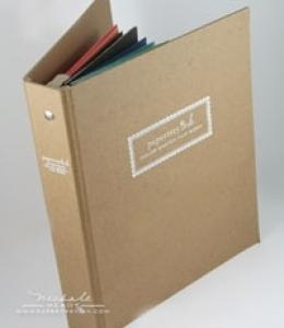 Color Swatch Flip Book Binder: Papertrey Ink Clear Stamps Dies Paper ...