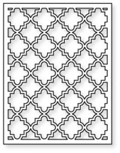 Papertrey Ink - Cover Plate: Quatrefoil Die