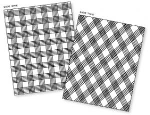 Papertrey Ink - Picnic Plaid Impression Plate  sc 1 st  Papertrey Ink & Papertrey Ink - Picnic Plaid Impression Plate: Papertrey Ink Clear ...