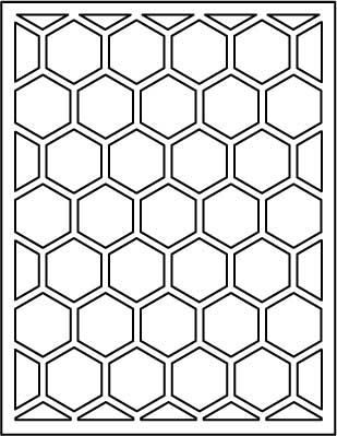 Papertrey Ink - Cover Plate: Hexagon Die: Papertrey Ink Clear ...