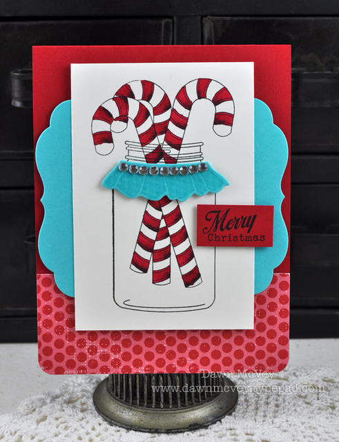 Friendship Jar Holiday Fillers Stamp Set Papertrey Ink