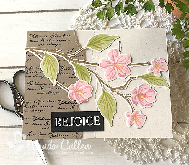 Small Leaves and Branches Clear Stamps Set