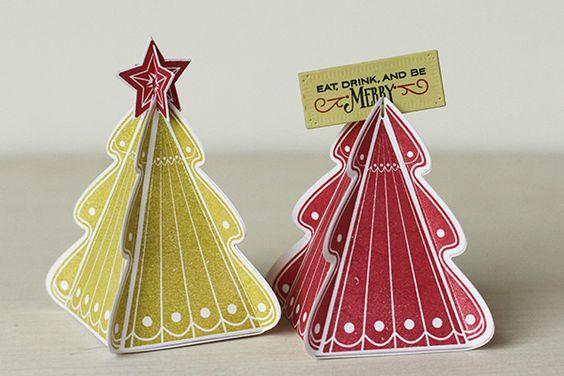 Christmas Tree Stamps