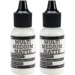 Ranger Multi Medium Glue - Matte 1/2 OZ (2 pack)