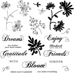 The Vault - Spiral Bouquet Stamp Set