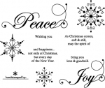 Snowflake Serenade Stamp Set