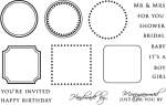 The Vault - Borders & Corners Monogram Edition Stamp Set