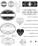 The Vault - Sweet Love Stamp Set