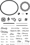 The Vault - Wedding Day Stamp Set