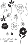 The Vault - Flower Garden Stamp Set