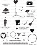 The Vault - Love Songs Stamp Set