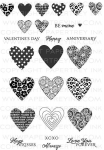 Heart Prints Stamp Set