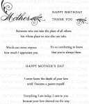 Mother Stamp Set