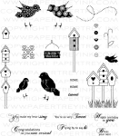 The Vault - Bird Watching Stamp Set