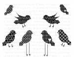 The Vault - Bird Watching Additions Stamp Set