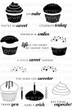 The Vault - Cupcake Collection Stamp Set
