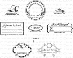 Trademarks Stamp Set