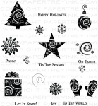 The Vault - Winter Swirls Stamp Set