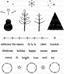 Holiday Tree Stamp Set