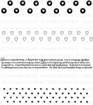 The Vault - Background Basics: Hearts Stamp Set