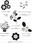 The Vault - Blooming Button Bits Stamp Set