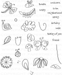 The Vault - Springtime Doodles Stamp Set