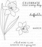 Year of Flowers: Daffodils Stamp Set