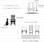 The Vault - Chair-ished Stamp Set