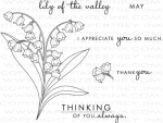 Year of Flowers: Lily of the Valley Stamp Set