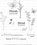 Flutterby Friend Stamp Set
