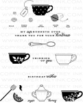 Tea for Two Additions Stamp Set