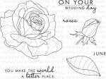 Year of Flowers: Roses Stamp Set