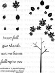 The Vault - Falling Leaves Stamp Set