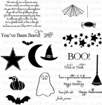 The Vault - Been Boo'd Stamp Set