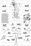 Friendship Jar Fall Fillers Stamp Set