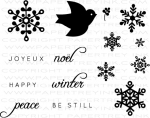 The Vault - Peace Be Still Stamp Set