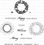 Wreath for All Seasons Stamp Set