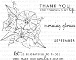 Year of Flowers: Morning Glories Stamp Set