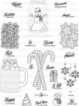Friendship Jar Holiday Fillers Stamp Set