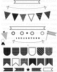 Banner Builder Stamp Set