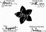 The Vault - Signature Series: Flower Mini Stamp Set