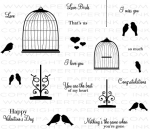 The Vault - Love Birds Stamp Set