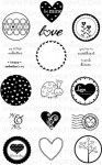 2010 Love Tags Stamp Set