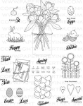 Friendship Jar Spring Fillers Stamp Set