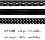 The Vault - Ribbon Tails Stamp Set